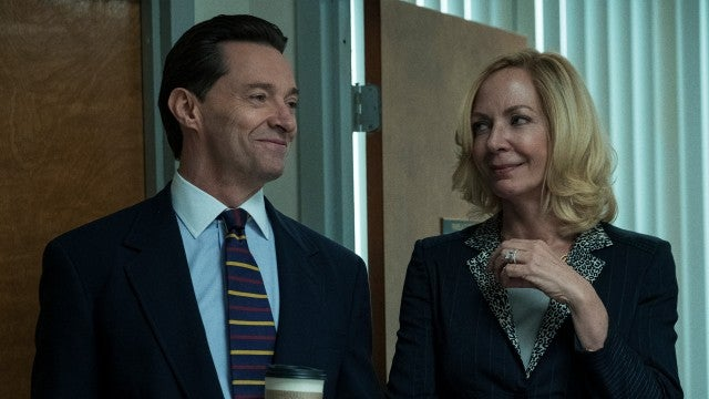 Watch Allison Janney Feed Hugh Jackman a Sandwich in HBO's 'Bad Education'