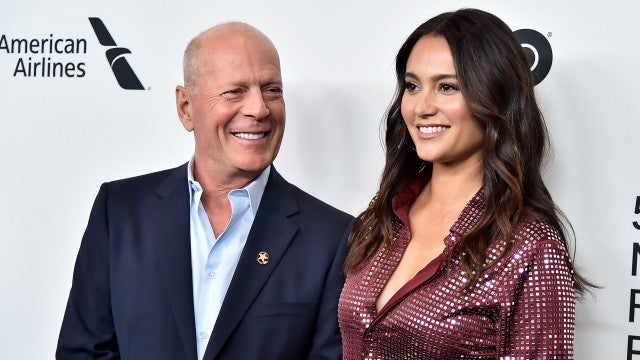Bruce Willis' Wife Emma Heming is 'Fine' That He's Quarantining With Ex Demi Moore