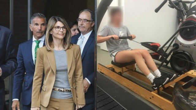Lori Loughlin's Daughters' Rowing Photos Released by Prosecutors in College Admissions Scandal