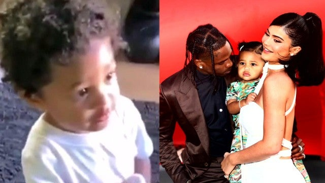 Kylie Jenner's Daughter Stormi Crashes Travis Scott's Insta Live