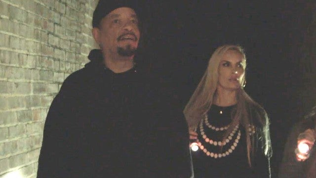 Watch Ice-T and Coco Encounter Strange Paranormal Activity in 'Celebrity Ghost Stories'
