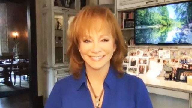Reba McEntire Says It Would 'Be a Hoot' to Virtually Reunite Cast of 'Reba' (Exclusive)