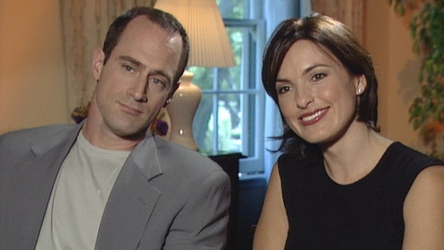 'Law and Order: SVU': Watch Christopher Meloni and Mariska Hargitay's First Interview (Flashback)