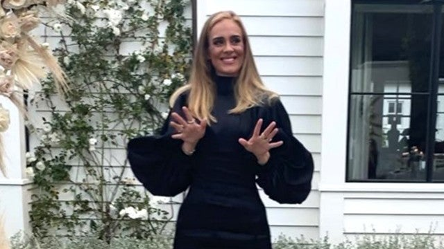 Adele Wows in a Little Black Dress While Thanking Fans For Birthday Wishes