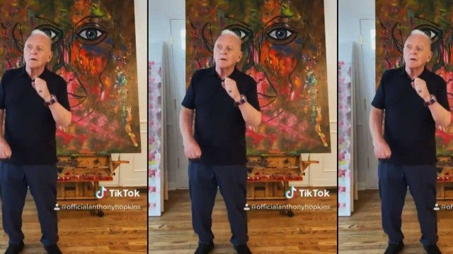 Anthony Hopkins Slays Drake's TikTok Dance Challenge and He's Got Moves