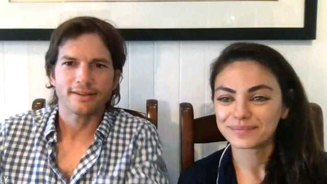 Ashton Kutcher and Mila Kunis Open Up About Quarantining Together
