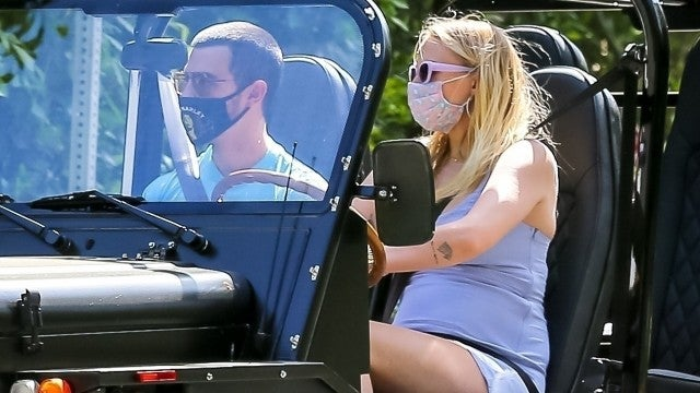 Pregnant Sophie Turner Puts Baby Bump on Full Display During Outing With Husband Joe Jonas