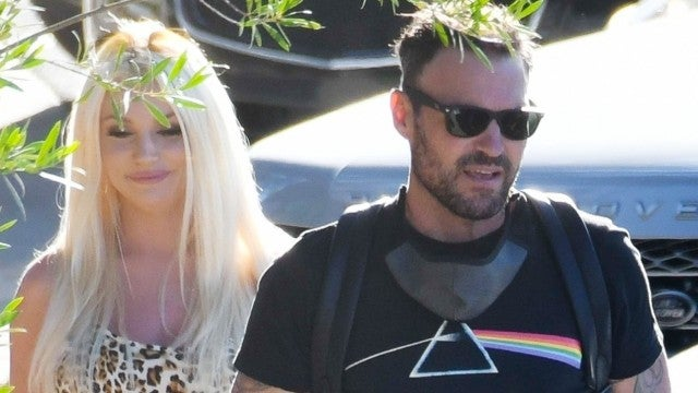 Brian Austin Green Spotted With Courtney Stodden After Split From Wife Megan Fox