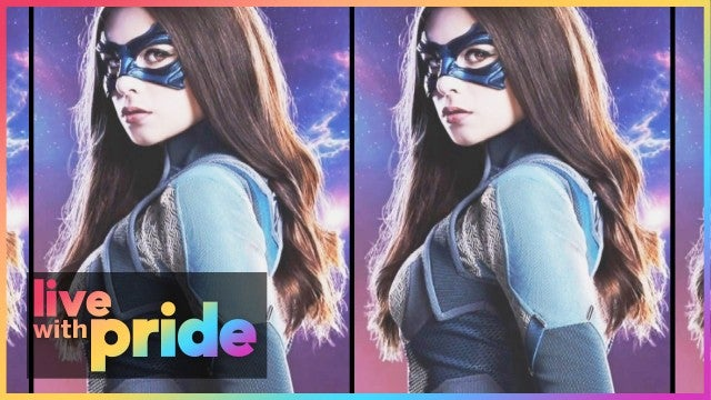 How 'Supergirl's Nicole Maines Made History as the First Transgender Superhero | Live With Pride