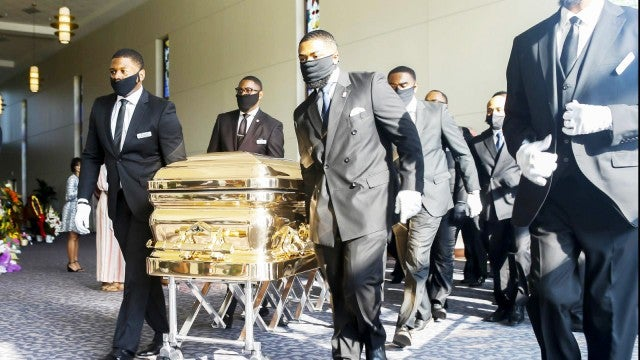 Inside George Floyd's Private Houston Funeral