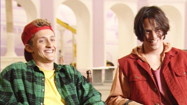'Bill & Ted': ET's Time With Keanu Reeves and Alex Winter
