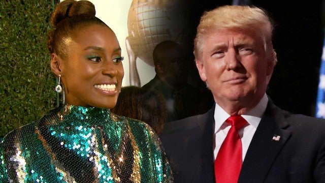Issa Rae Reacts to Donald Trump Liking Tweet About 'Insecure'