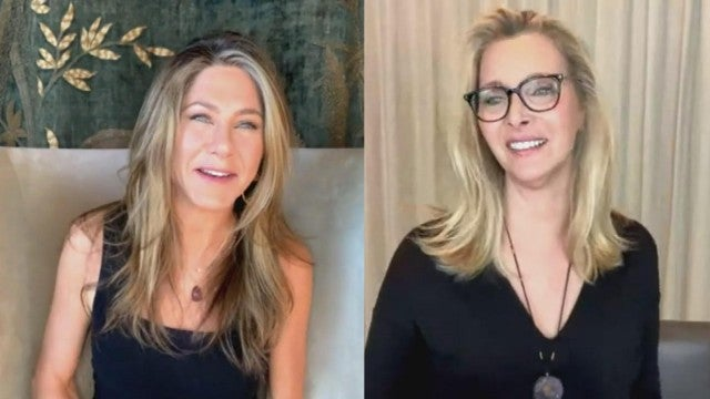 Jennifer Aniston and Lisa Kudrow Admit to Watching 'Friends' Bloopers