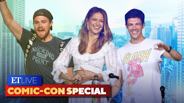 ET's Best Comic-Con Moments With 'Arrow,' 'The Flash,' 'Supergirl' and More! | ET Live Comic-Con
