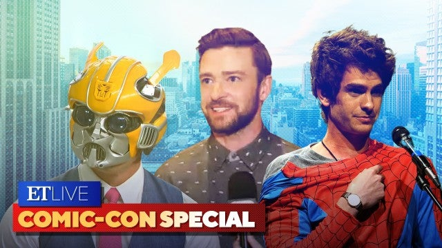 Justin Timberlake, John Cena and More Celebs Who Love Cosplay | ET Live Comic-Con