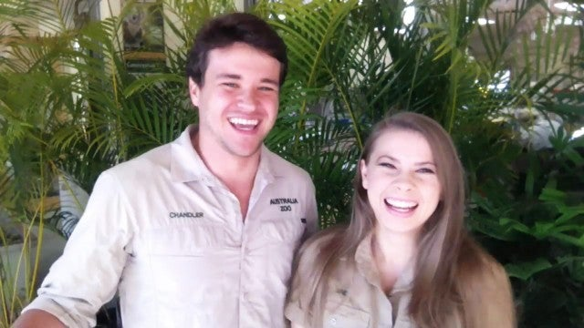 Bindi Irwin Celebrates Her 22nd Birthday by Feeding the Crocs!