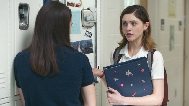 Natalia Dyer Finds Out Why Watching 'Titanic' Is a Sin in 'Yes, God, Yes' (Exclusive Clip)