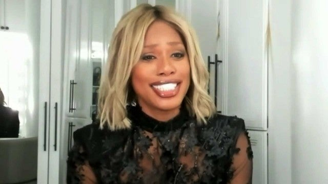 Laverne Cox Reacts to Emmy Nomination and Awkward Leslie Jones Moment