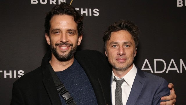 Zach Braff Says Nick Cordero Asked Him to Look After His Wife and Son in Final Text Message
