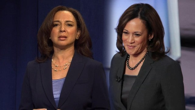 Maya Rudolph Reacts to Kamala Harris Joining Joe Biden's Ticket -- What It Means for 'SNL'!