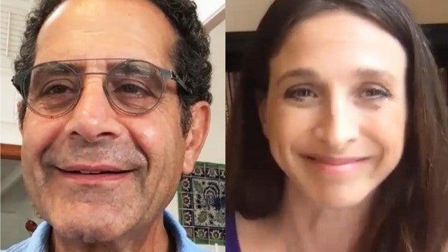 Watch 'Marvelous Mrs. Maisel' Stars Tony Shalhoub and Marin Hinkle Virtually Interview Each Other