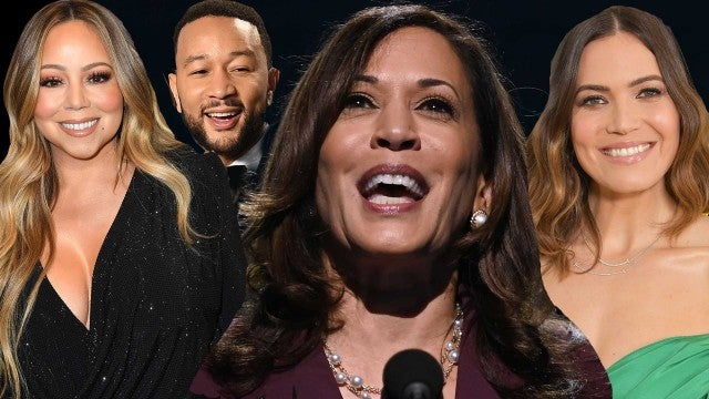 Celebrities React to Kamala Harris' Empowering Democratic National Convention Speech