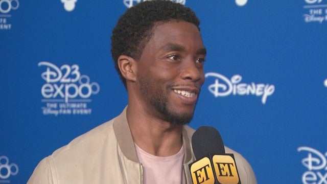 'Black Panther' Cast and More Stars Mourn Death of Chadwick Boseman