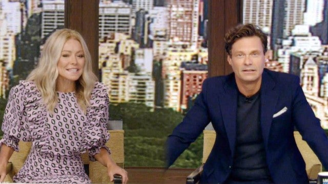 Ryan Seacrest Talks Social Distancing On-Set From 'Live' Co-Host Kelly Ripa