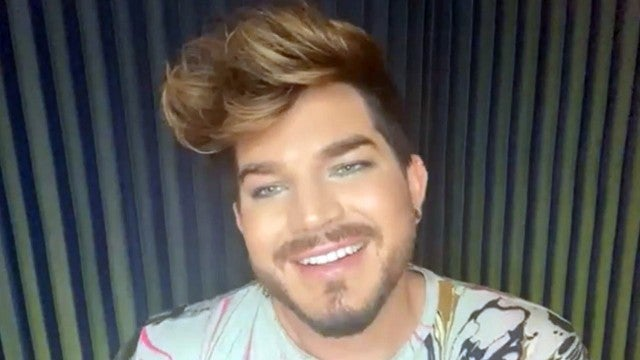 Adam Lambert Gives Health Update on 'Queen' Lead Guitarist Brian May