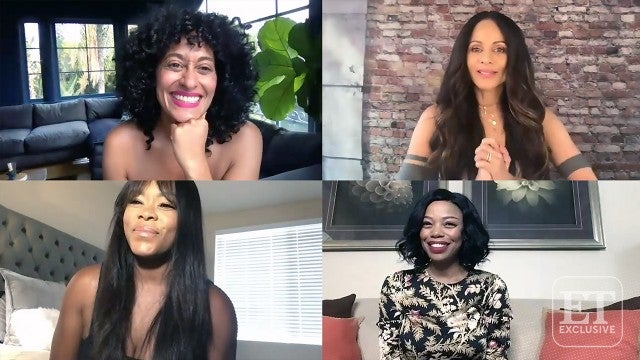 Tracee Ellis Ross and 'Girlfriends' Cast Reunite for 20th Anniversary (Exclusive)