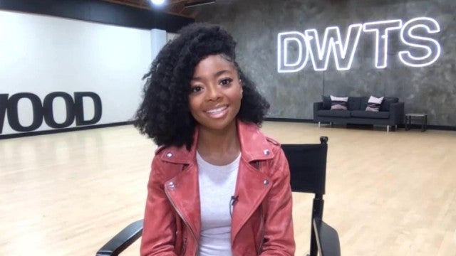 DWTS: Skai Jackson on How Host Tyra Banks Inspires Her Routines