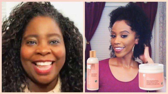 ET Style Tried Beyonce's Hairstylist Kim Kimble's New Product Line for Natural Hair
