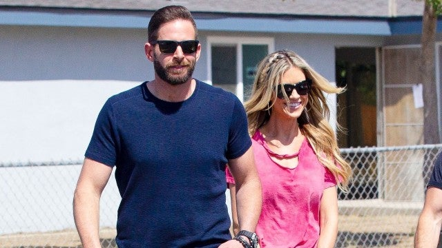 Christina Anstead Smiles With Ex Tarek El Moussa After Announcing Split From Husband Ant Anstead