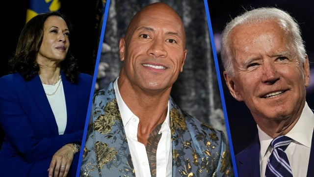 Dwayne Johnson Supports Joe Biden in His First-Ever Presidential Endorsement