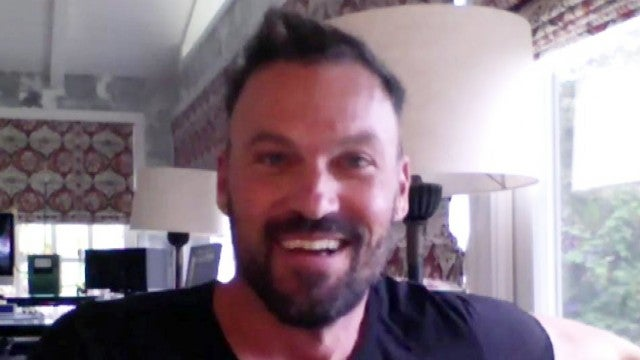 Brian Austin Green Talks 'Masked Singer' Elimination and His Throwback '90210' Rapping Skills