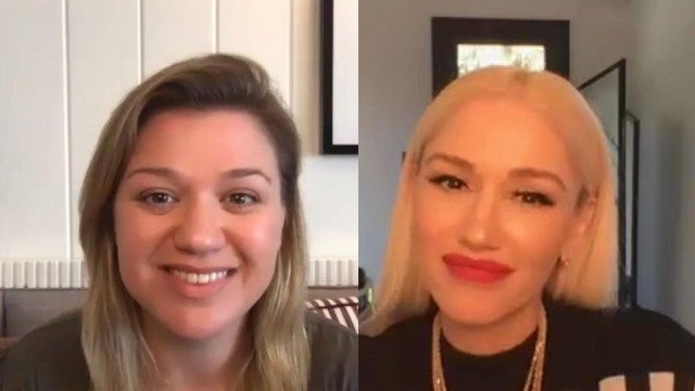 Kelly Clarkson and Gwen Stefani Talk 'The Voice' (Exclusive)