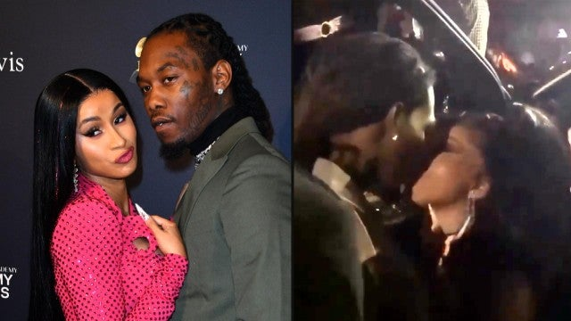 Cardi B Kisses Offset at Her Birthday Party After Filing for Divorce