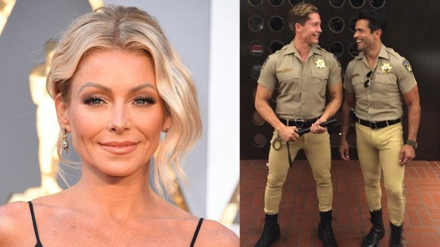Kelly Ripa and Mark Consuelos Respond to His Eye-Catching Halloween Pic
