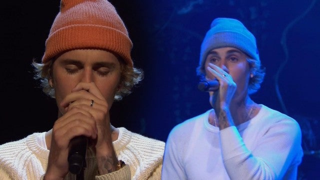 Justin Bieber Delivers Emotional 'Saturday Night Live' Performances