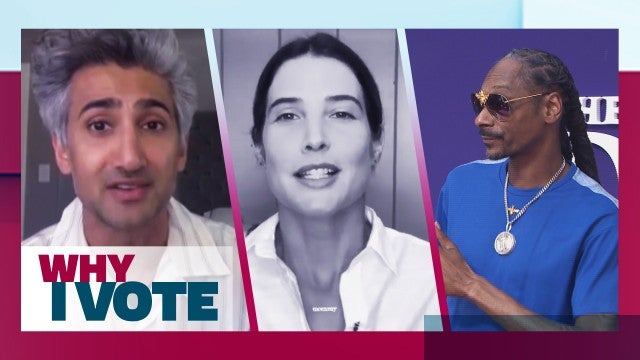 Tan France, Snoop Dogg and More Celebs Voting For the First Time | Why I Vote