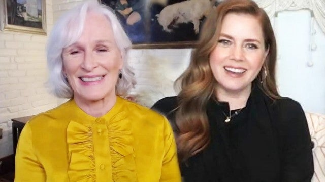 'Hillbilly Elegy' Stars Glenn Close and Amy Adams on Naming Their Wigs (Exclusive)