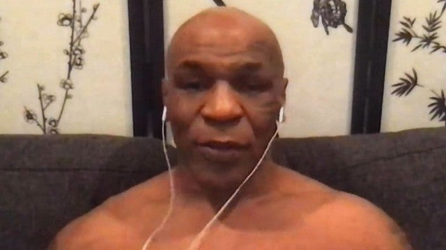 Mike Tyson Takes His Shirt Off on Live TV to Show Off 100 Pound Weight Loss