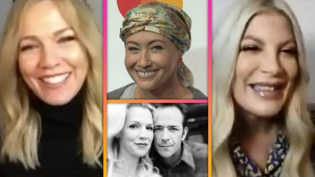 Tori Spelling and Jennie Garth on Shannen Doherty's Cancer Battle and Honoring Luke Perry's Legacy