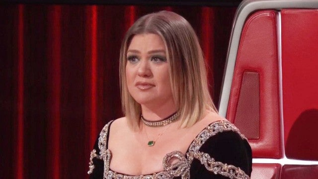 Kelly Clarkson Tears Up on 'The Voice' and Her Talk Show as Divorce Makes More Headlines