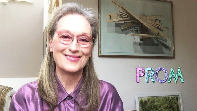 Meryl Streep on Rapping in 'The Prom' & the 'Sophie's Choice' Review That Stuck With Her (Exclusive)