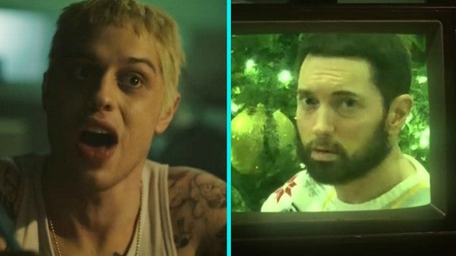 Eminem Makes Surprise 'SNL' Appearance During Pete Davidson's 'Stan' Parody
