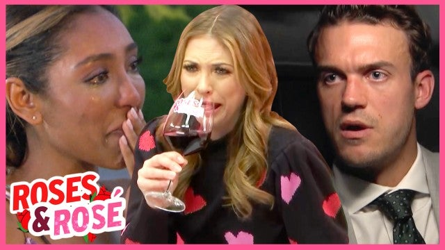 'The Bachelorette': Tayshia's Tears, the Men Tell All and a Shocking Goodbye! | Roses & Rosé