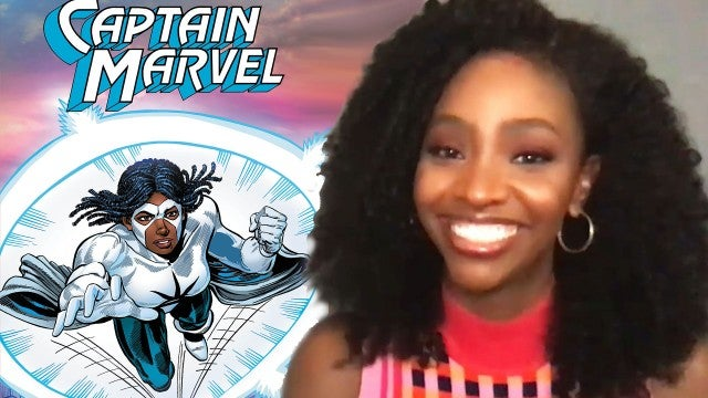 WandaVision: Teyonah Parris Talks Monica Rambeau and 'Captain Marvel 2' | Full Interview