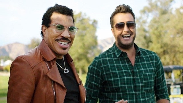 'American Idol': Luke Bryan and Lionel Richie Race in Swagged-Out Golf Carts (Exclusive)