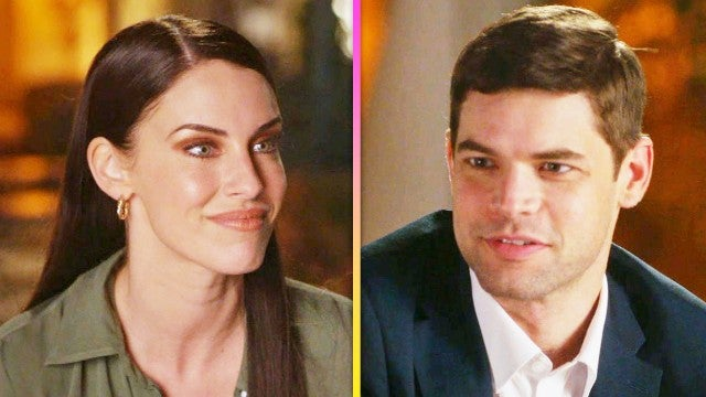 Jeremy Jordan and Jessica Lowndes Flirt in Hallmark's 'Mix Up in the Mediterranean' (Exclusive)